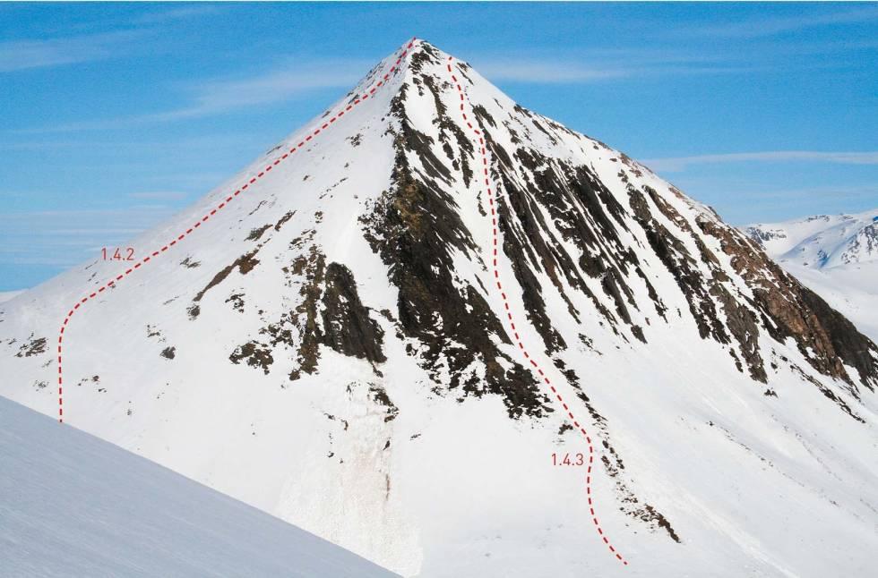 Såta 1131 moh fra Toppturer i Romsdalen