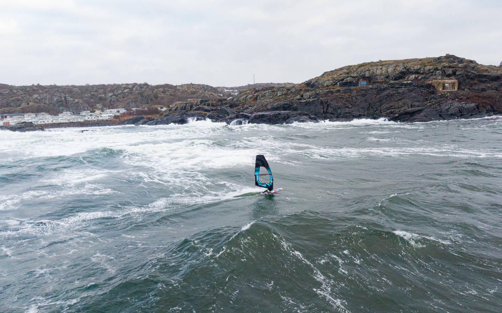 Windsurfing Oddane fort