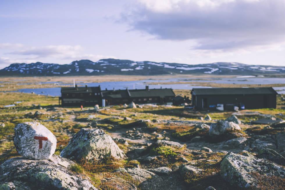 Sandhaug DNT hytte korona ledig plass