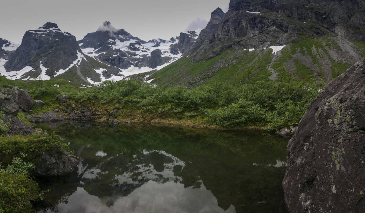 saufonnholet kvanndalen Romsdalen fjelltur