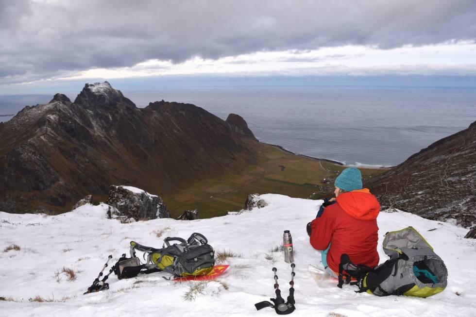 saupstadtinden fjellturer i lofoten espen nordahl