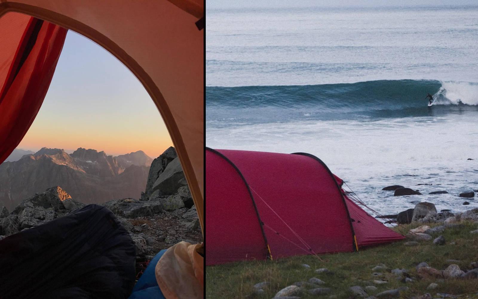 Sommer som vinter, hav eller fjell. Schirmers instagramprofil har dokumentert alle varianter. Bilde: @nikolaischirmer