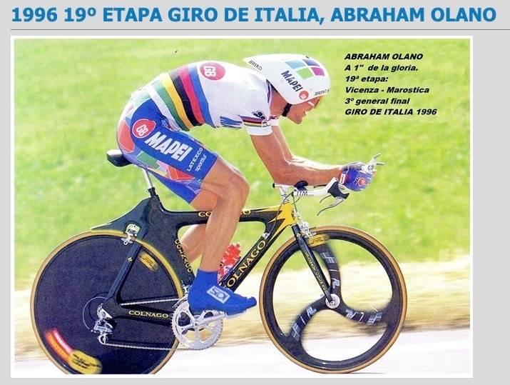 Abraham Olano Colnago TT bike