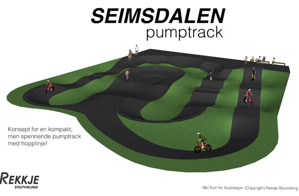 Pumptrack Seimsdalen Årdal