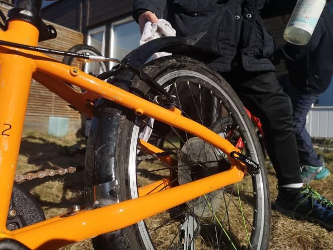 sett i stand sykkelen