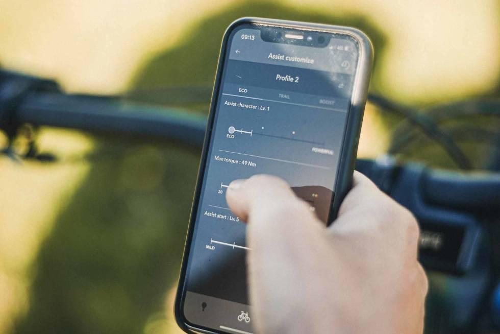 shimano elsykkel app