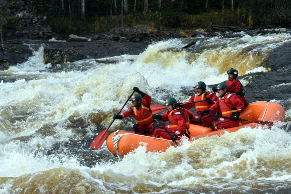Sigdal rafting