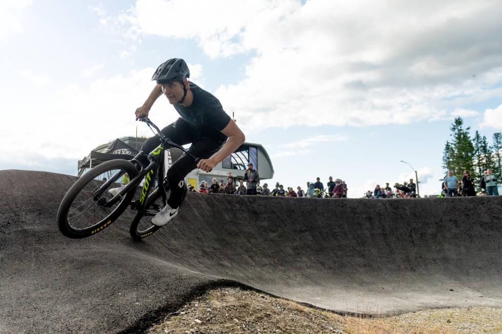 Simen Smestad vant Norwegian Pumptrack Series under Hafjell Bike Fest