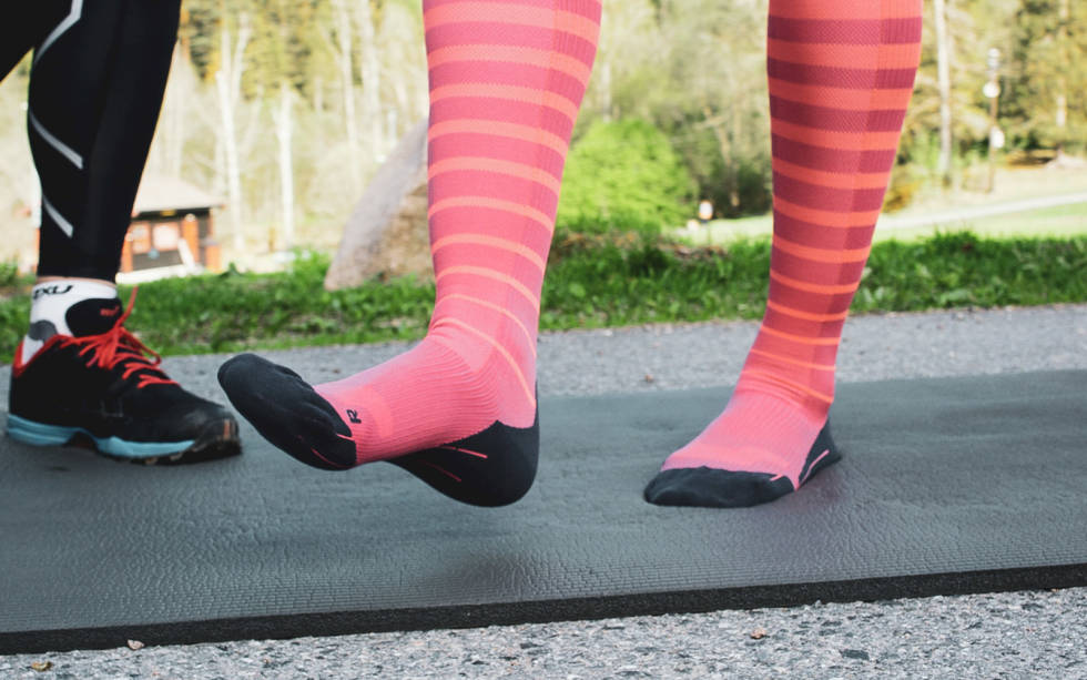 skadeforebygging for løpere