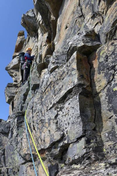 innerdalen klatring fjellklatring