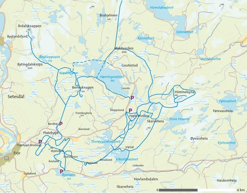 Ski-i-Evje-Kart