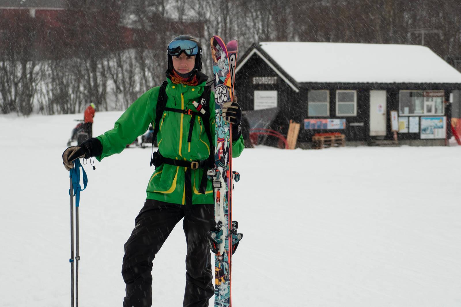 Bjørn Olav Loftsgarden - Skipatruljens lokale guide for dagen. Bilde: Christian Nerdrum