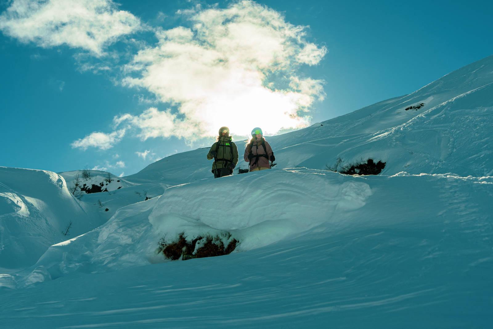 Treffer du med været i Røldal er det lite som slår en dag her. Bilde: Christian Nerdrum