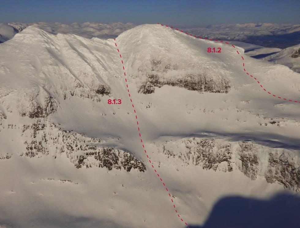 Skittendalstinden-Evenes-Skånland-med-rute-4