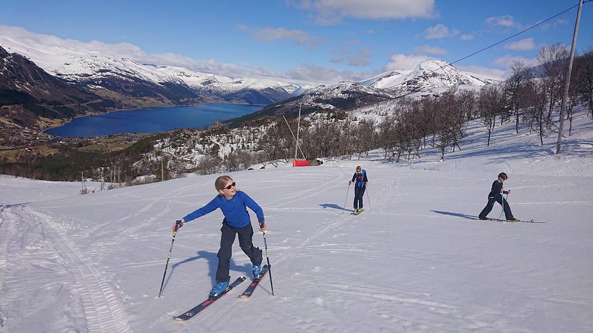 skitur i Jølster skisenter