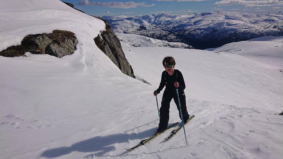 skitur Kvamsfjellet