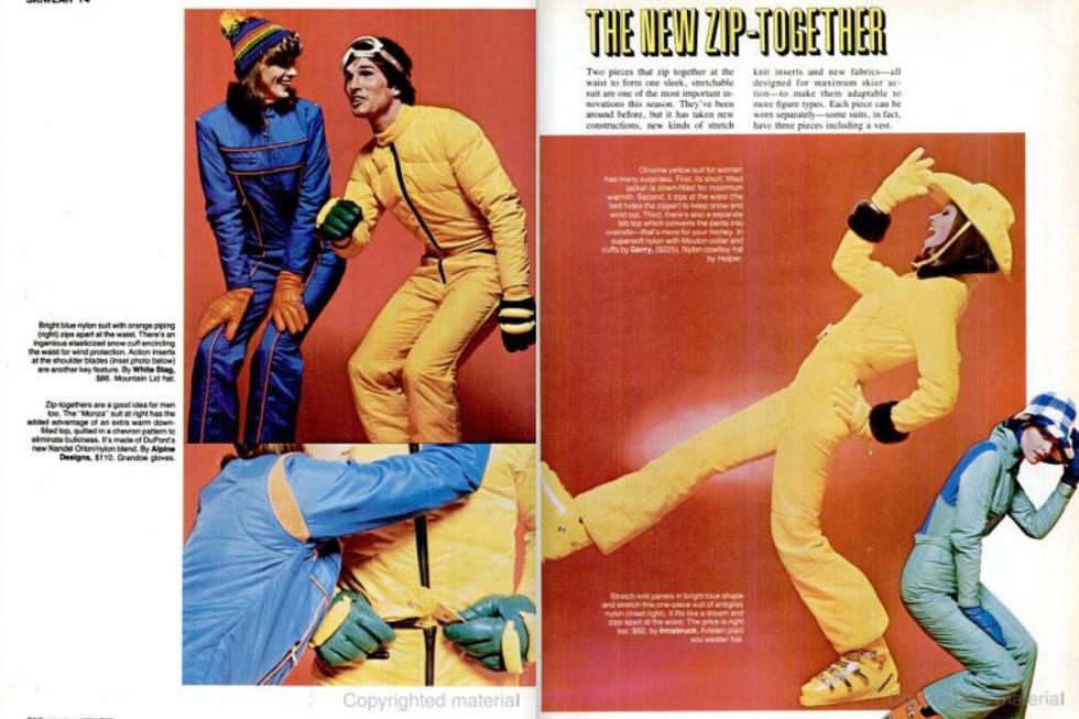Skiwear 1974