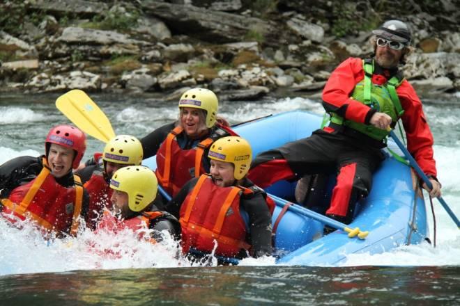 Rafting med Go Rafting Sjoa AS