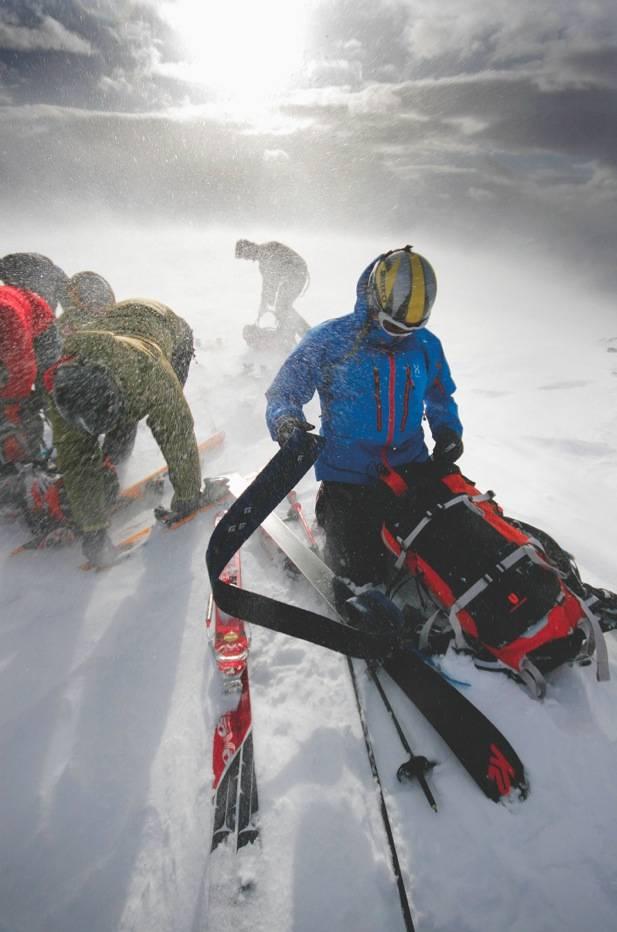 VÆR BEREDT: Vinterfjellet innebærer gjerne all slags vær, innimellom alt på en gang. Foto: Matti Bernitz