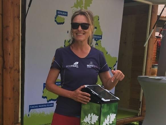 ECOTRAIL-SJEFEN: Løpsleder Marit Karlsen for Ecotrail Oslo er også habil ultraløper.