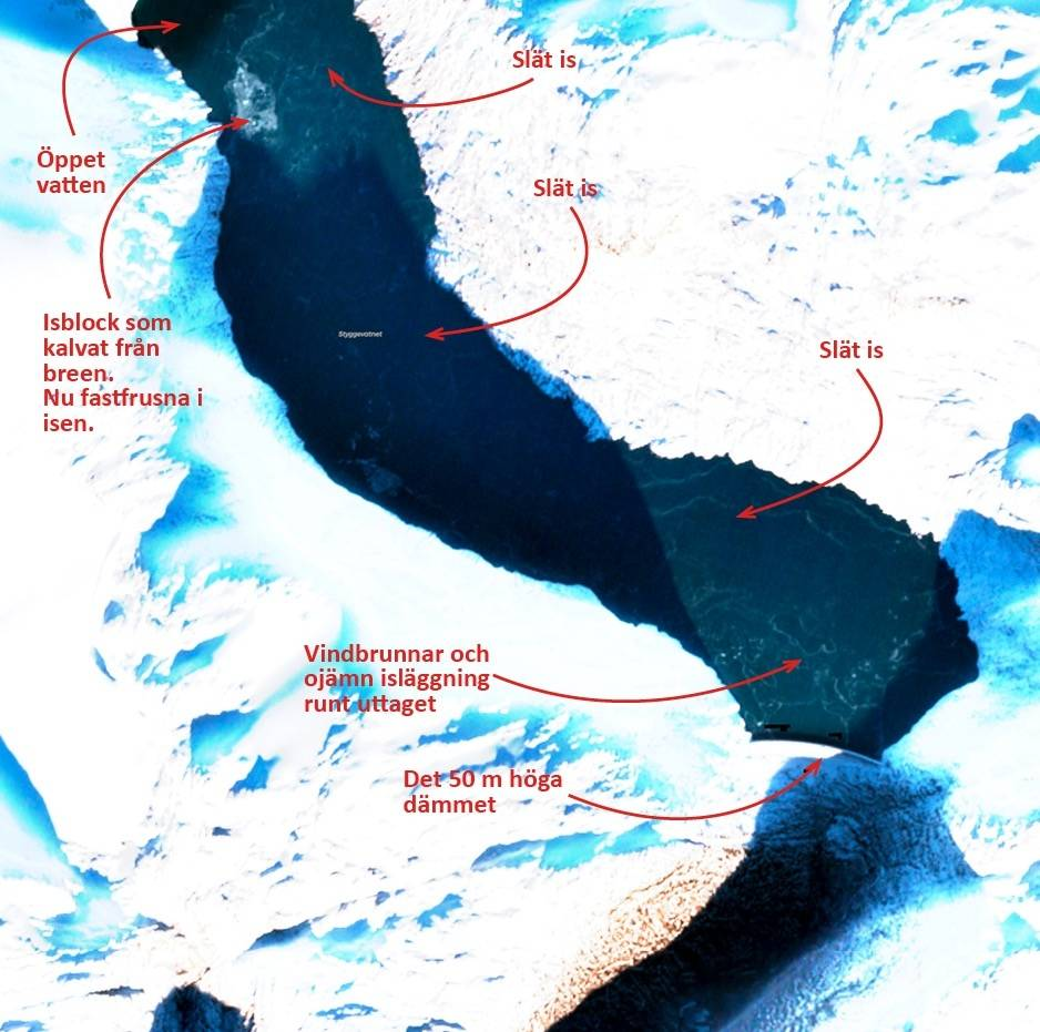 satelittbilde skøyteis