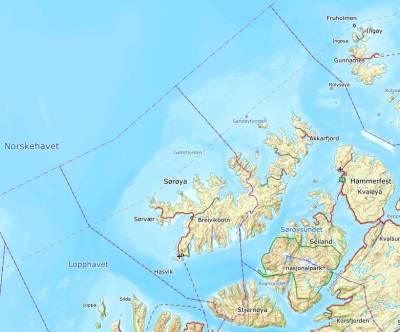sørøya kart