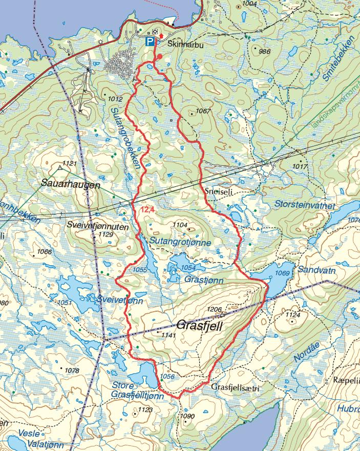 Skinnarbu - Grasfjell turguide telemark rauland