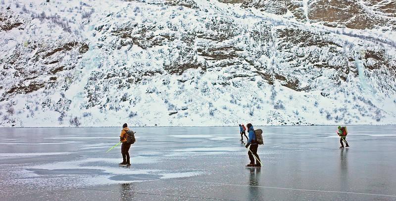 gjendevannet vinter turskøyter