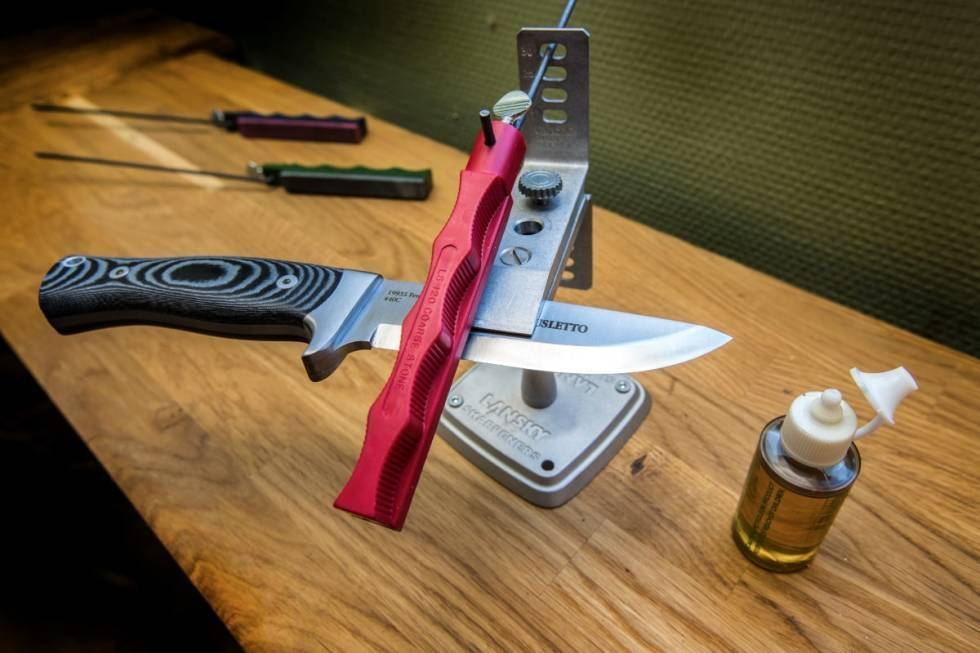 SKARP kniv test
