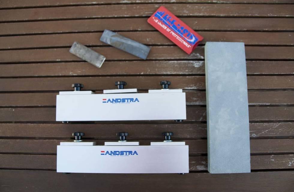 utstyr til sliping av turskøyter
