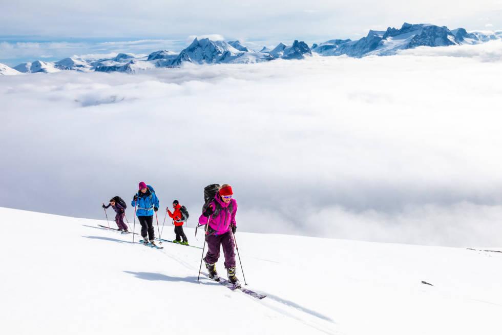 Smørbottfjellet 1188 moh Toppturer i Romsdalen