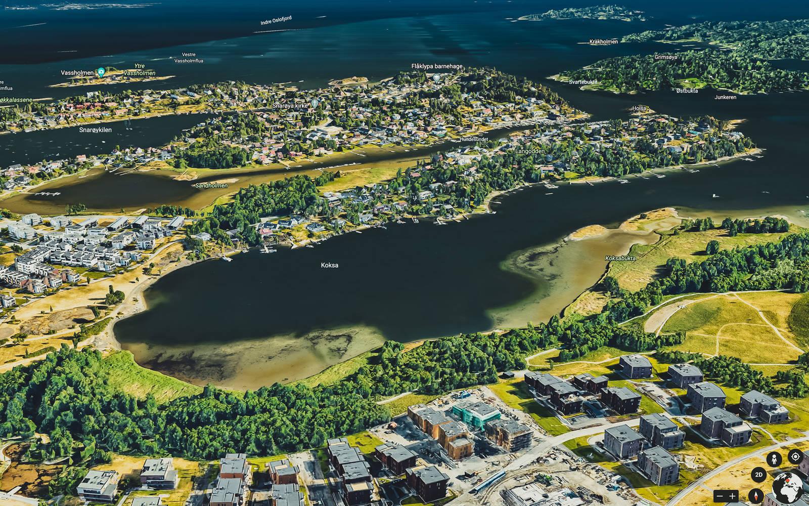 Snarøya er blant de mest populære stedene å padle SUP i Oslo. Årsakene er åpenbare.