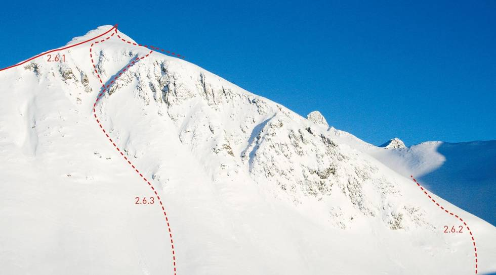 Søre Klauva 1356 moh fra Toppturer i Romsdalen