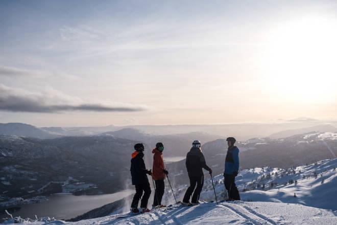 Sigurd Ask, Fredrik Solnes Dahle, Knut-Hendrik Lajord og Marit Rolvsjord