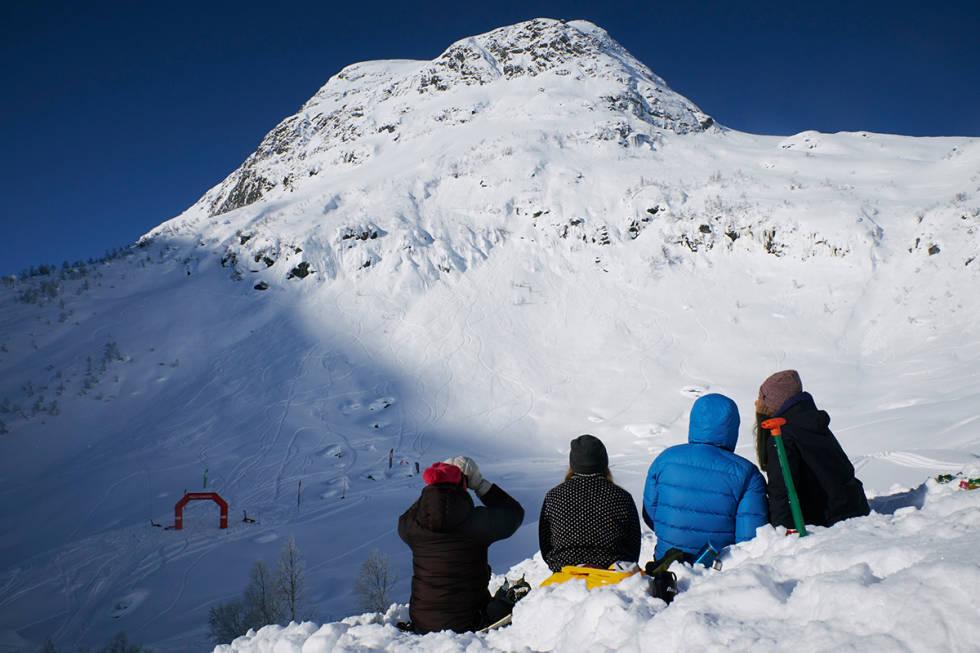 Sogndal freeride fri flyt frikjøring guide anlegg