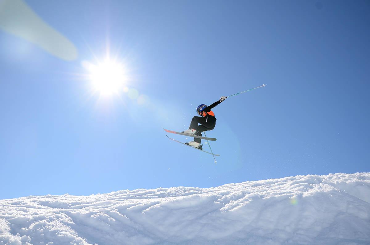hopp på ski Sogndal skisenter