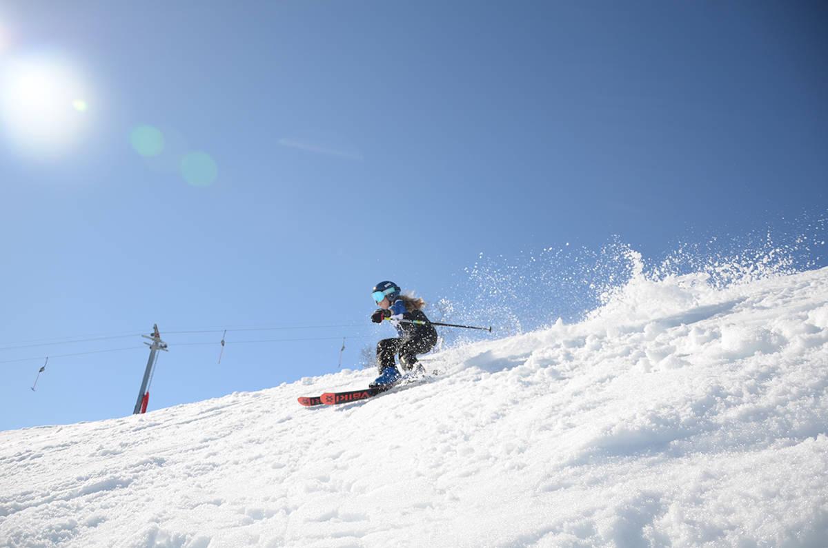 skikjøring i Sogndal skisenter Hodlekve