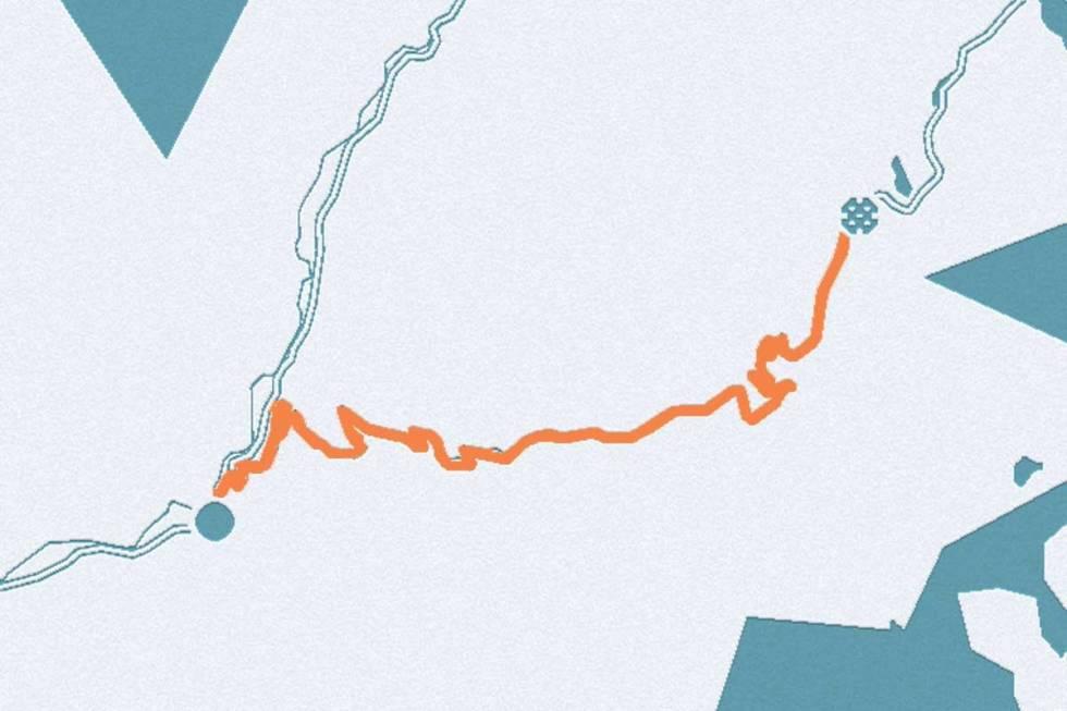 Sognefjellet-kart