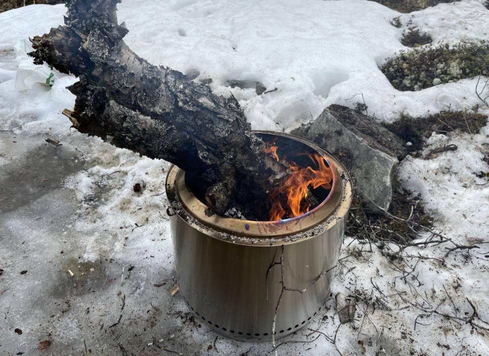 test av solo stove bonfire