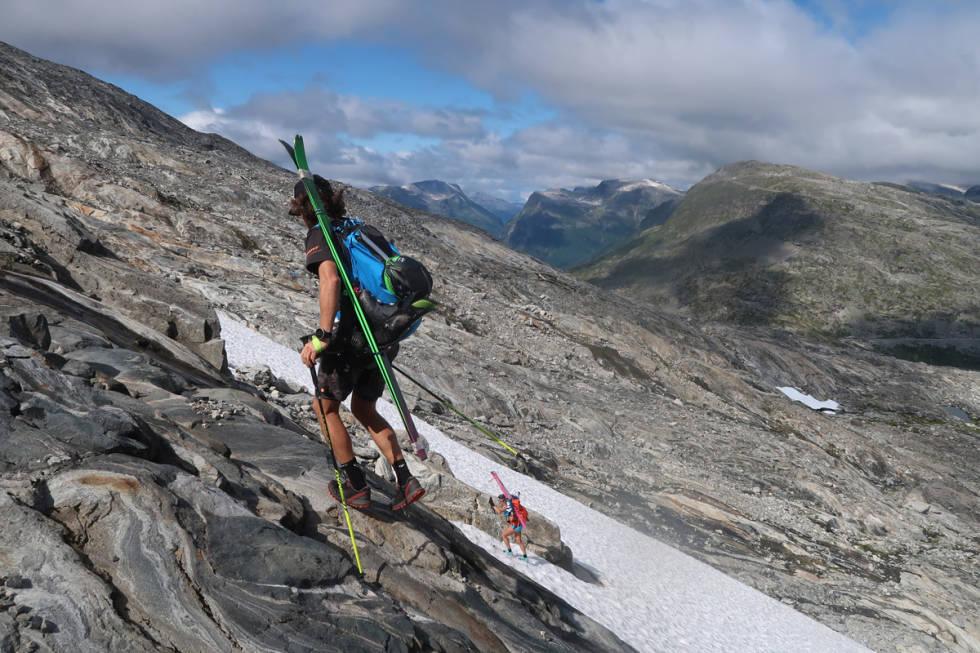 topptur sommer ski