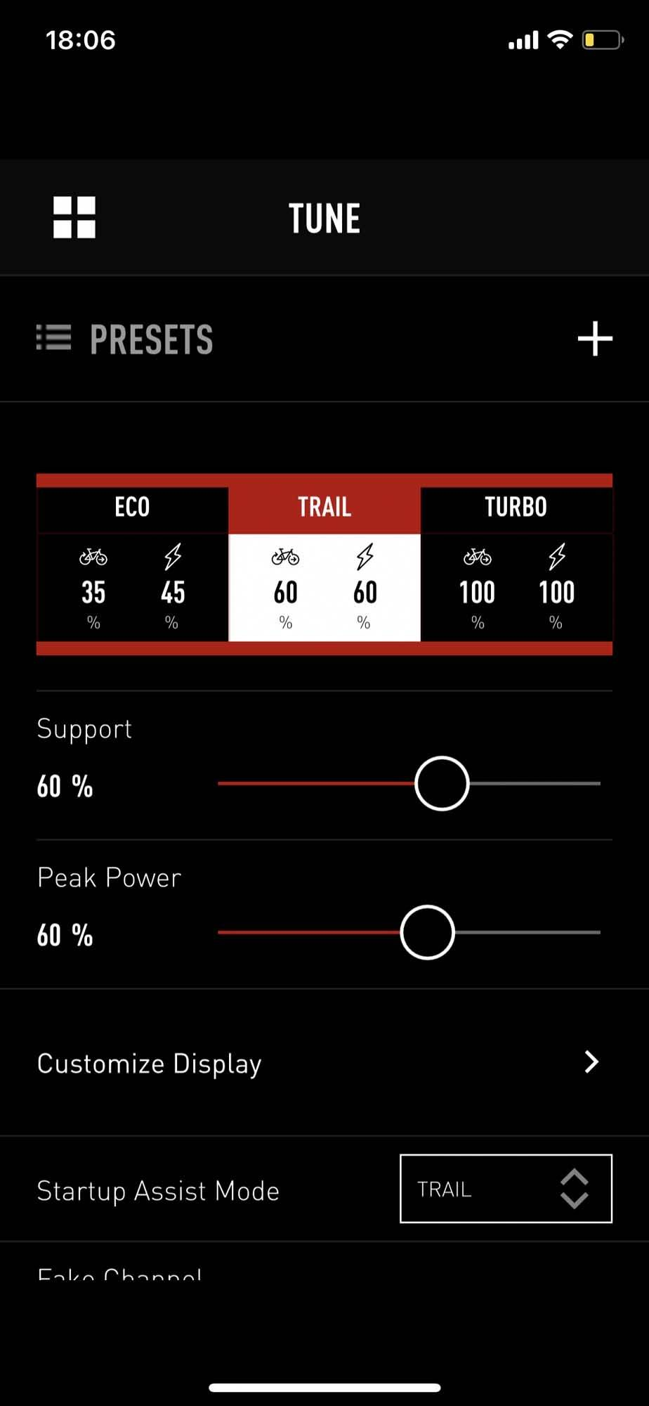 elsykkel specialized mission control app justering