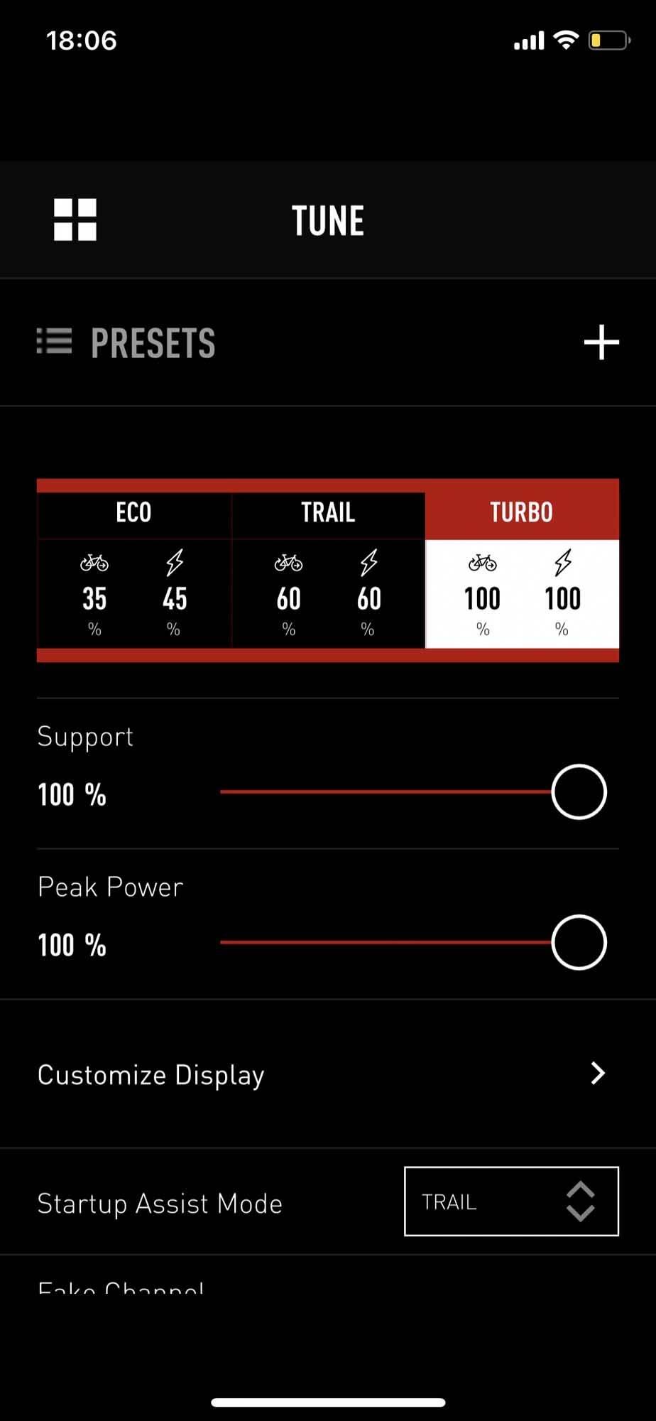 elsykkel specialized mission control app justering motor elektrisk stisykkel