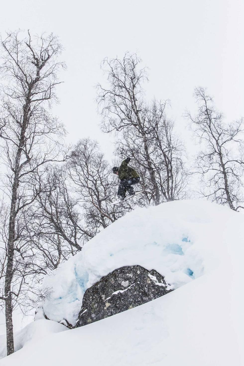 SOGNDAL: Knut Christoffersen med en indy i Sogndal.