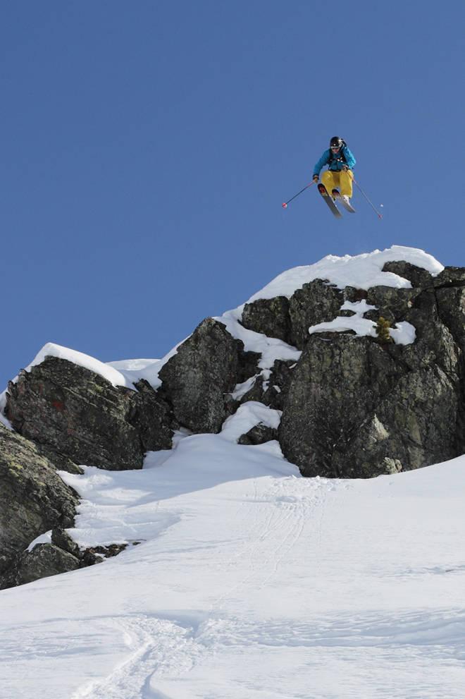 Sveits, frikjøring, St.Luc, vinterferie