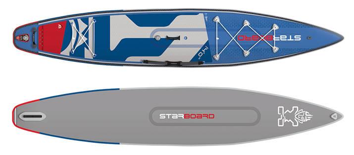 """Starboard Tour 14´0"""" er spekket med gode løsninger og avansert SUP-teknologi"""