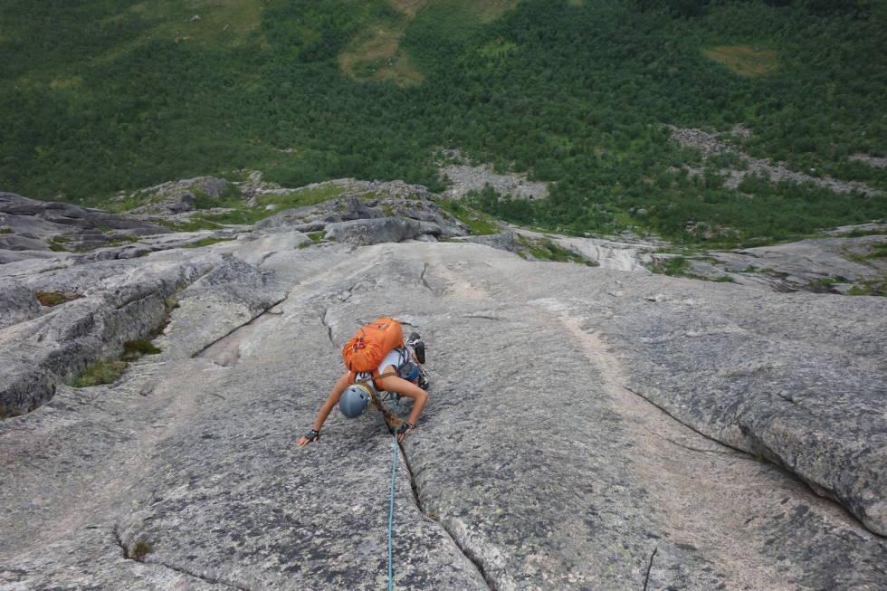 Steigen, fjellklatring, Håkon Wegge