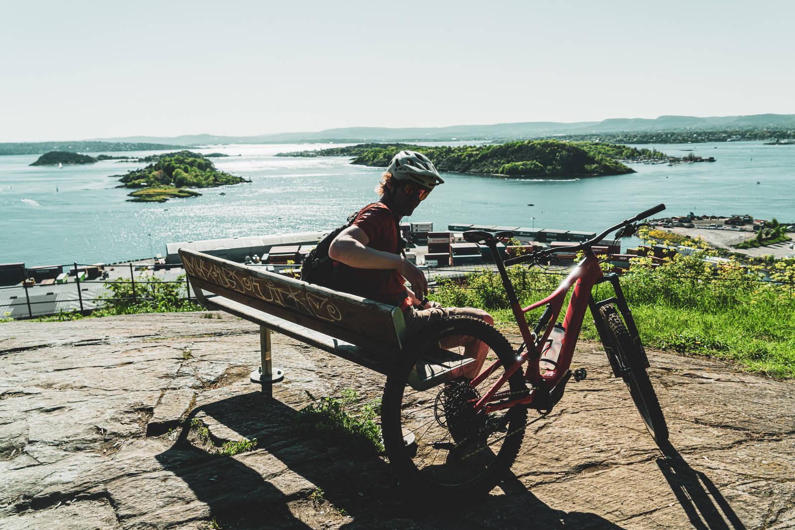 Legger du turen innom Utsikten nedenfor Kongsveien, kan du nyte Oslo i all sin prakt. Bilde: Christian Nerdrum