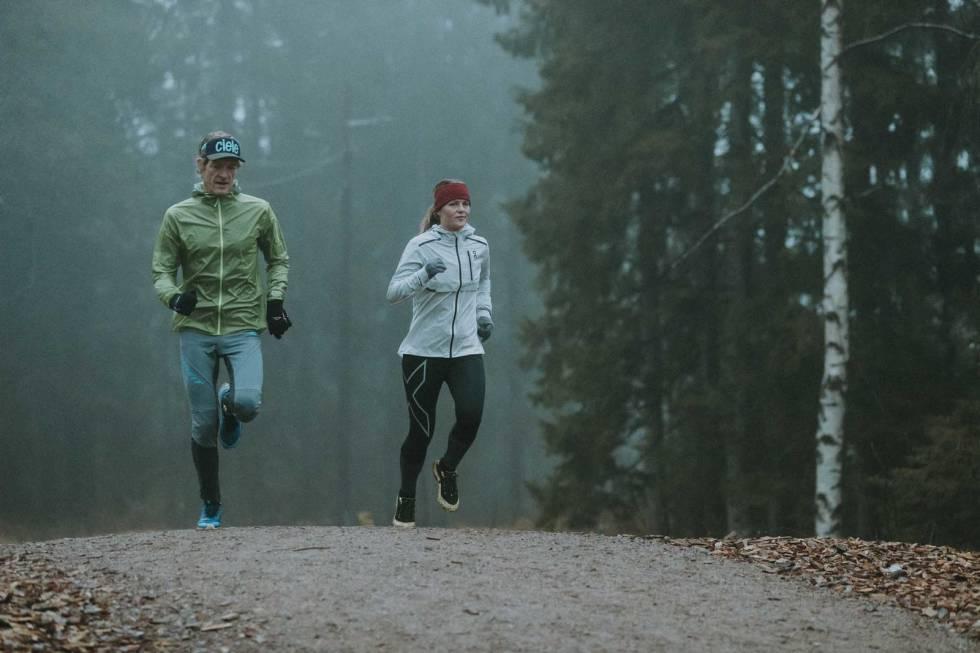 Løping i skogen