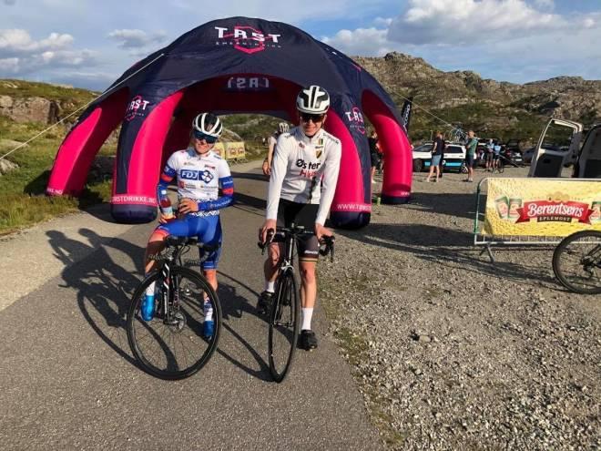 Stine Borgli og Håkon Wisløff på Tørst Challenge