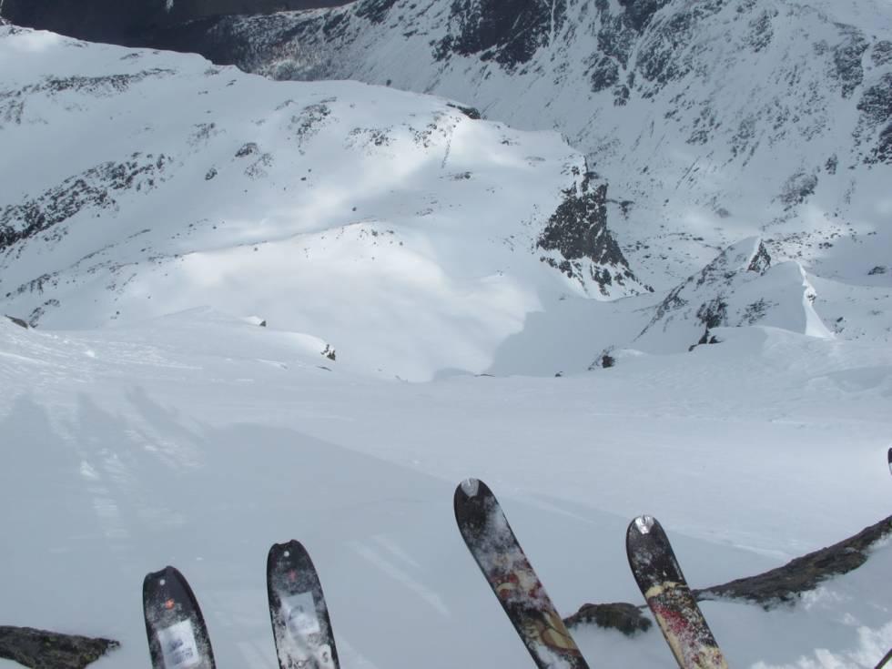 Store Venjetind på ski